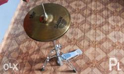 Excellent condition Sabian SBR cymbals with stand