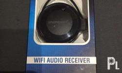 Sabrent wifi audio receiver Wd-radu Play your music