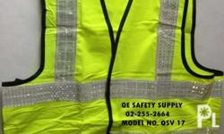 Brand New Safety Vest Nylon Type Heavy Duty color. neon
