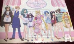Sailor Moon Cafe original booking special 1 sheet A3