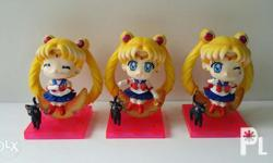 Sailormoon Chibi Figures Set Without box Php 900 fixed