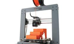This machine has solid steel construction and can print