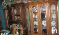 selling different kinds of china cabinet seconhand but