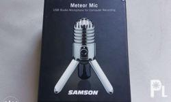 For Sale only, Samson Meteor Mic USB interface, for