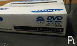 Samsung DVD player karaoke new seal never been open