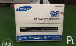 Selling my samsung dvd player. BRAND NEW. Kasama to sa