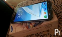 For sale is my wife?s galaxy note2 n7100. Complete