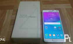 For sale or swap Samsung Galaxy Note 4 32GB 4G LTE 8 (