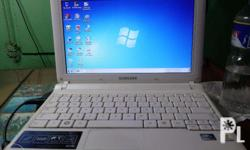 Im selling my Samsung N150 notebook for 7,500 Bought
