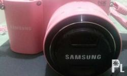Samsung Camera NX1000 Pink 20.3 mega pixel camera With