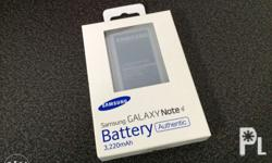 Original samsung battery 6Months warranty Note 4