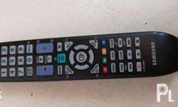 Remote for Samsung plasma tv. In great condition.