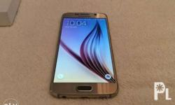 Samsung s6 gold 32gb Openline Complete box Fast
