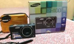 Samsung SH100, touchscreen digital camera, 14.2 MP,