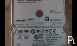 For sale! Samsung spinpoint HDD 500gb SATA 2.5 Price :