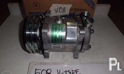 brand new car aircon compressor sanden r-134a sd508 /