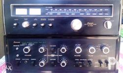 For Sale Sansui Amplifier: Model AU 777 and Matching