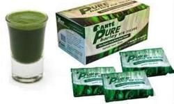 You need to drink Sante Pure Barley! It is the Most