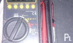 CD800A SANWA DIGITAL MULTIMETER Almost brand from