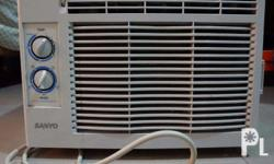 Selling: Sanyo 0.5hp Window-Type Air Conditioning Unit