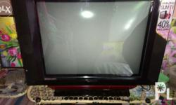 Sanyo television good as new slightly used sightly