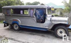 Private Sarao Jeepney Engine C240 negotiable upon