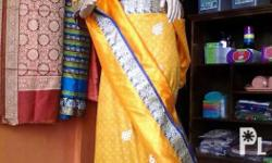 Saree can make two different dresses to a unique
