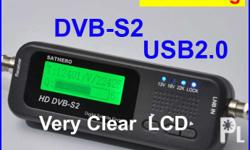 DVB-S/S2 Smallest and fastest digital signal finder