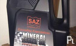 SAZ Motor Oil Available is the Mineral Oil - 850 per