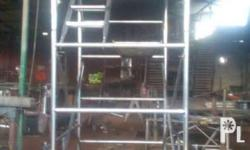 Scaffolding G. I. s-40 Consist of 2 hframe, 2cross