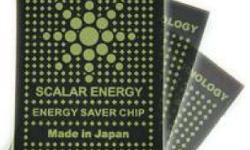 Scalar energy Saver and anti-radiation Sticker. Ang