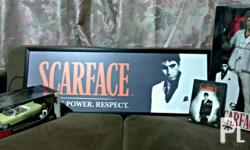 Action figure, die cast car, dvd and poster ***15k for