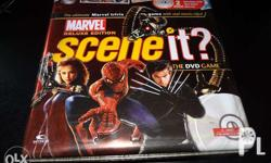 Scene It Deluxe Marvel Edition DVD Trivia Game -