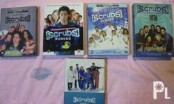 Scrubs complete season 1, 2,3 ,4, 5, and 6 complete