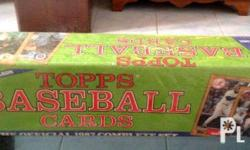 I am offering SEALED 1987 Topps Baseball Complete