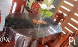 2nd hand(used)table cover and flower vase is not