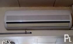 second hand split-type LG aircon, 2.5 hp, good