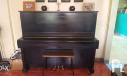This lovely upright piano has given us countless hours