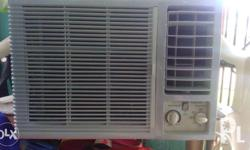 Window type carrier 1hp good condition,hindi na repair