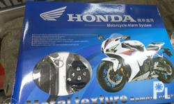 Security Alarm System for Motorcycle We ship