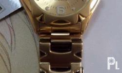 Brand new! Gold plated! Original w/ warranty booklet.