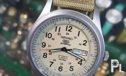 Seiko 5 Sports Military ( limited stocks on hand ) SNZG
