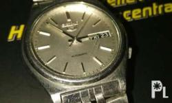Vintage seiko 5 7s26. Cleaned and running. Bracelet