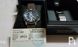 # Limited Edition Seiko monster # SRP561K1 # 100th year