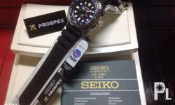 SEIKO PROSPEX KINETIC GMT DIVER Authentic / Brand New