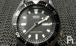Rare and hard to find Seiko SKX399 automatic diver's