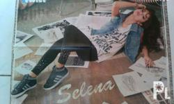 Selling my posters and clippings of selena gomez, lucy