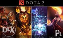 Selling dota 2 items. Arcanas and other immortals