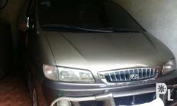 For sale No issue 1st owner Hyundai starex 98 model