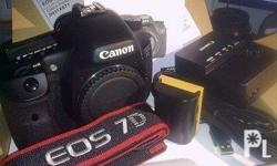 Canon EOS 7D features an all-new 18.0 Megapixel APS-C